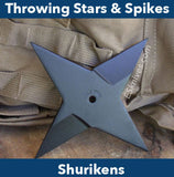 Shuriken and Throwing Stars