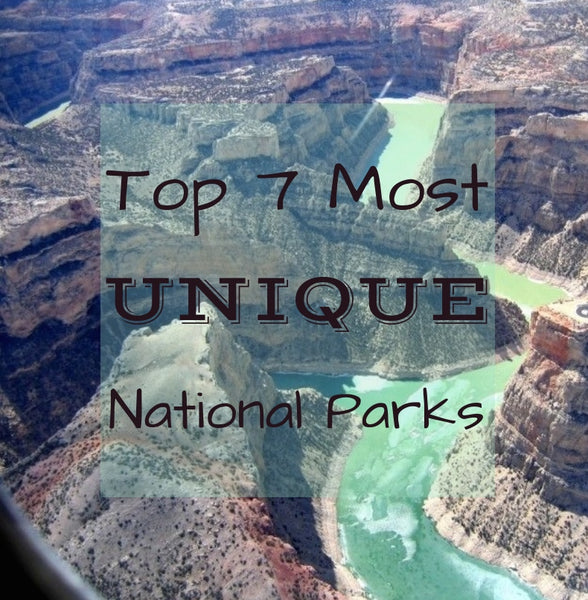 Top 7 Most Unique National Parks