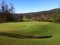 Georgia golf course resort in Autumn