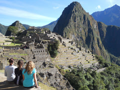 Peru - Girls at Machu Picchu