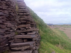 Ireland - rock stairs