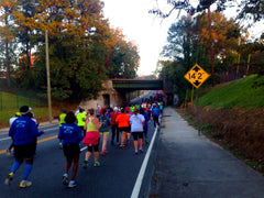 Running race in Atlanta