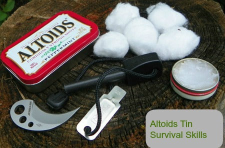 altoid firestarter kit