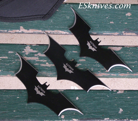 Batman Shurikens ESKnives