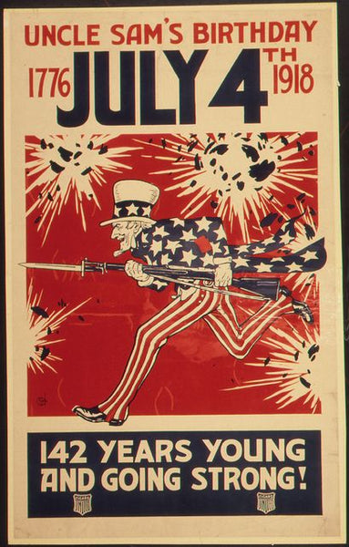 classic americana war posters July 4