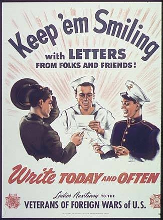 Classic American War Posters Keep 'em smiling
