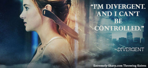 Divergent Quote | I'm divergent and I can't be controlled.