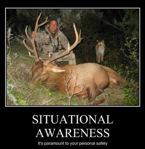 Hunting Humor Situational Awareness