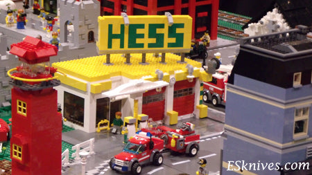 BrickFair Hess Gas Station