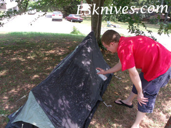 Waterproofing Tent