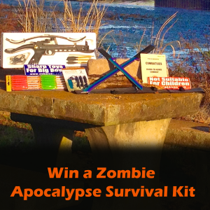 Zombie Apocalypse Survival Kit Giveaway