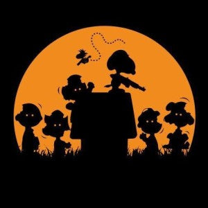 snoopy and the peanuts gang zombies