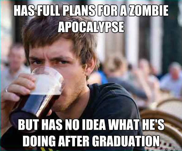 Lay College Senior Zombie Prep
