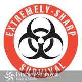Extremely-Sharp Survival Sticker - Extremely-Sharp.com