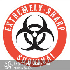 Cool Stuff - Extremely-Sharp Survival Sticker