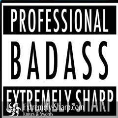 Professional Bad Ass Sticker