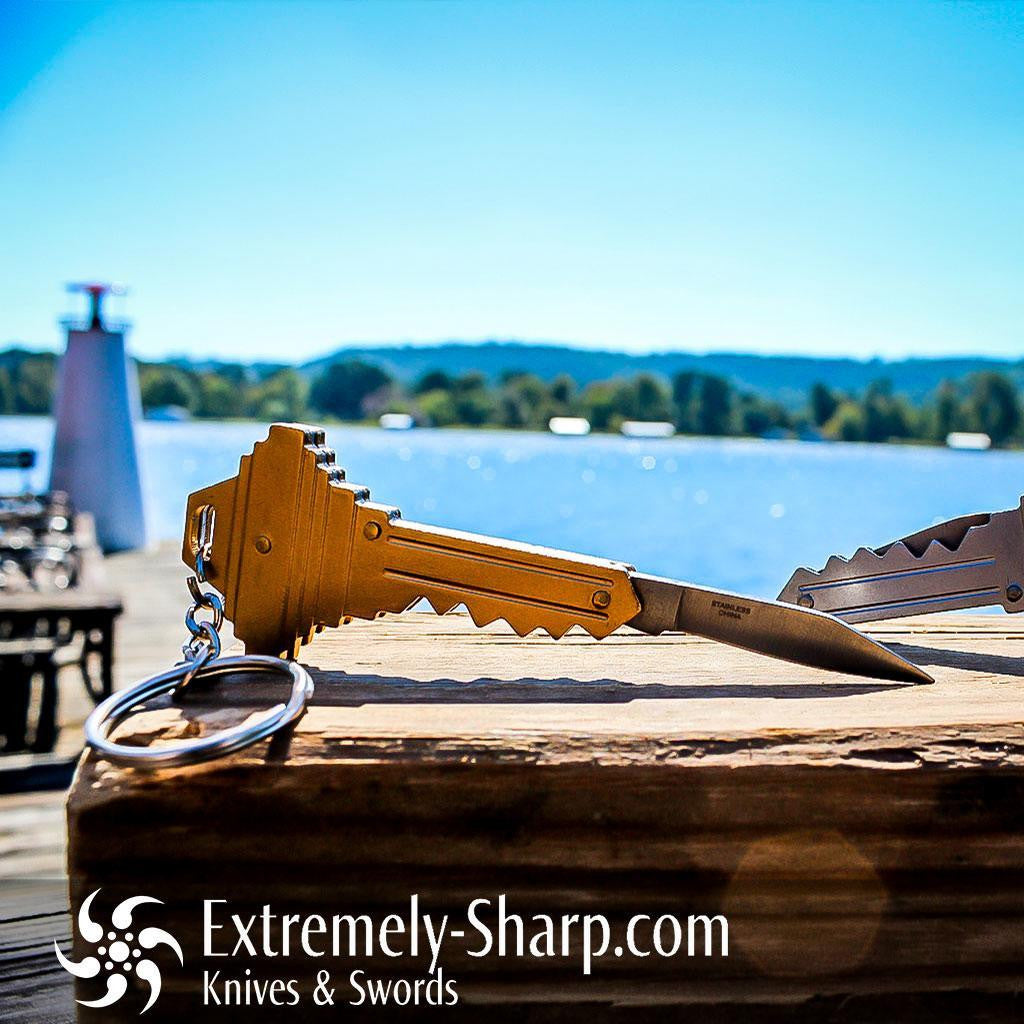 Global Key Knife Key chain - Extremely-Sharp.com