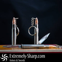 Pocket Knives - Extremely-Sharp 30 06 Bullet Knife Key Chain