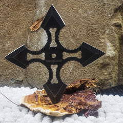 Bone Flight 4 pinted Shuriken Throwing Star
