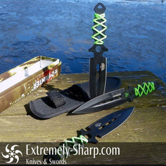 Zombie Extinction Decimator Throwing Knives