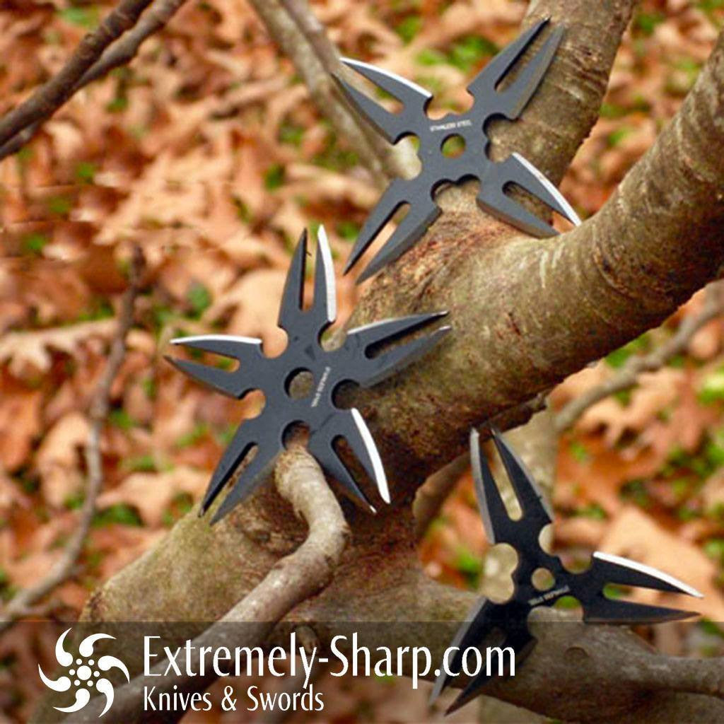 Throwing Stars & Shurikens - Jotsu Ki Akana Three Shuriken Set