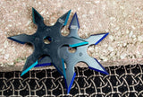 Shinobe Throwing Star Shuriken Perfect Point 6 pointed star
