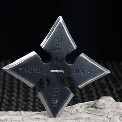 Yagyu Konoha Style Shuriken Throwing Stars