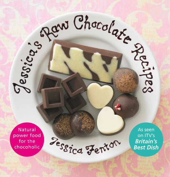 Jessica's Raw Chocolate Recipes (Hardback Recipe Book)
