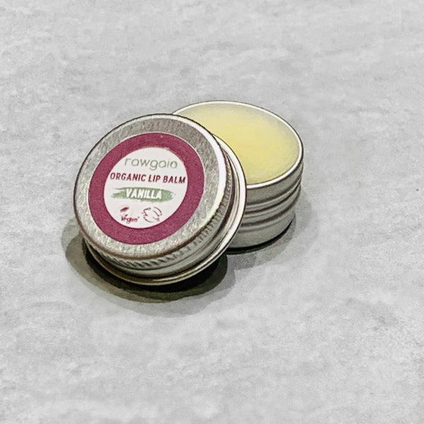 Organic Lip Balm - Vanilla (5ml)