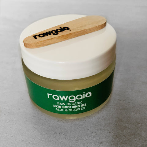 Raw Organic Skin Soothing Gel - Aloe & Seaweed