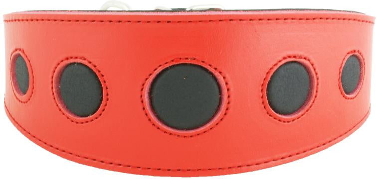 Collar Galgo Royal Moon Rojo