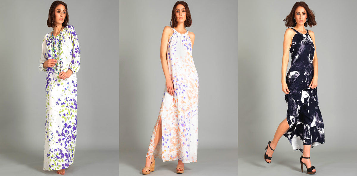 Maxi dresses flatter every figure