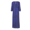 Poppy Long Sleeve Maxi Dress -  Royal Blue Ink