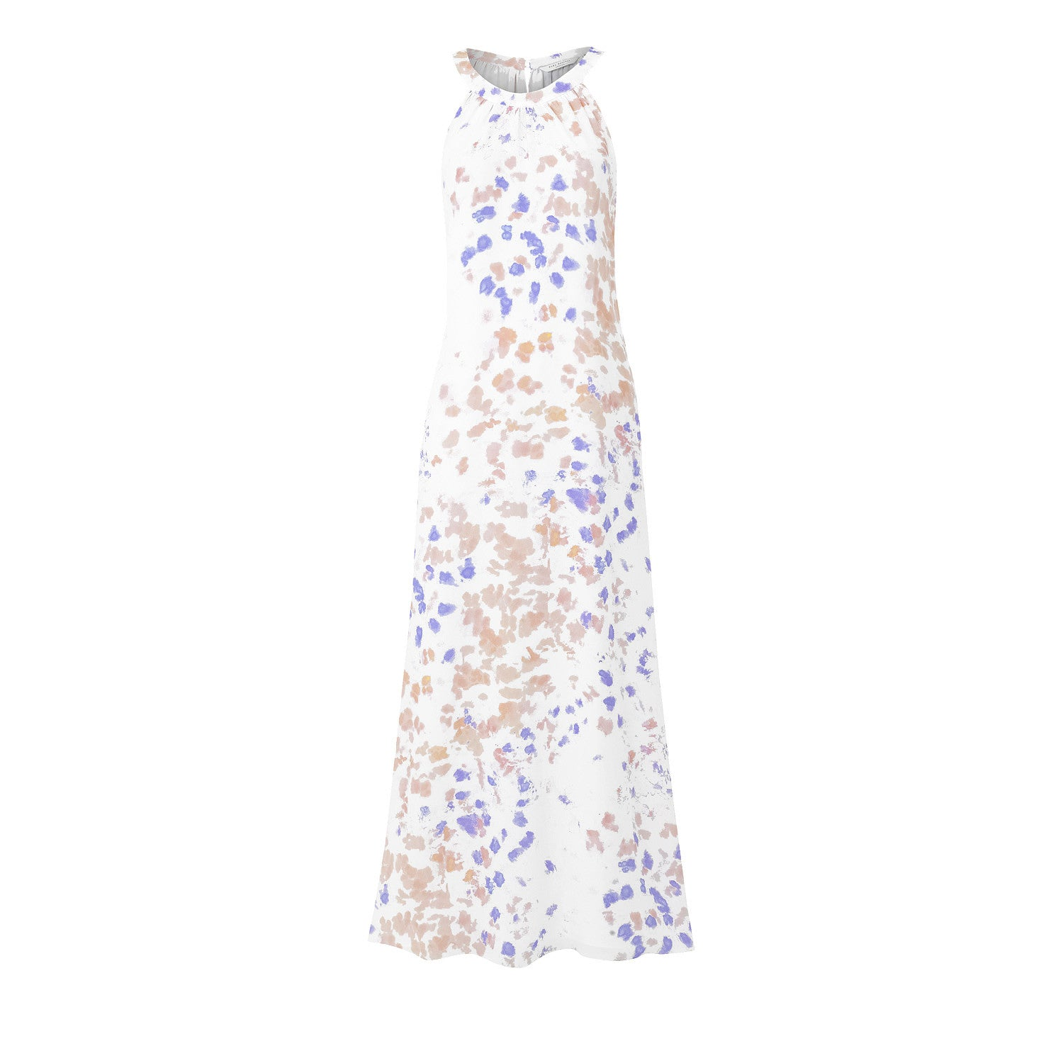 Jemima Maxi Dress - Lilac and Pink Ink