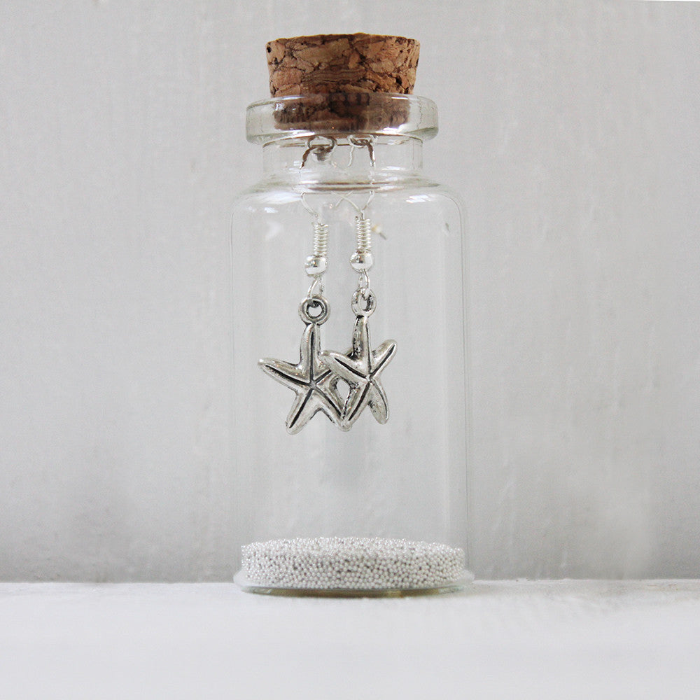 Starfish  Earrings in a Bottle (92)