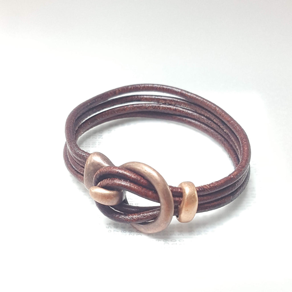 Mens leather bracelet (SW9)