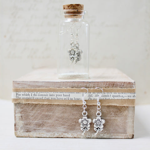 Flower Earrings in a Bottle (198)