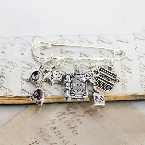 Literacy Book Lover Brooch (64)