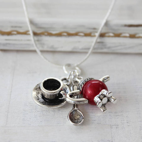 Posh Tea Lovers Necklace (133)