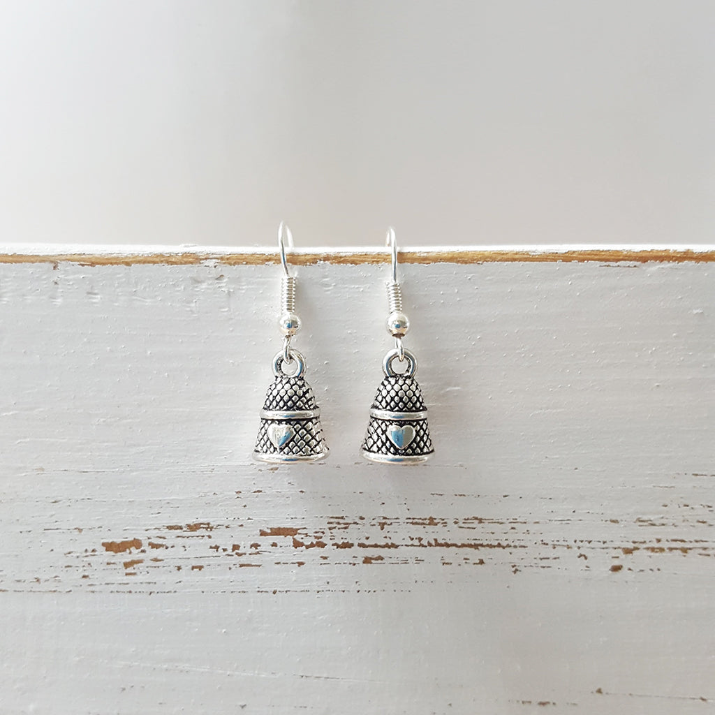 Thimble earrings (182)