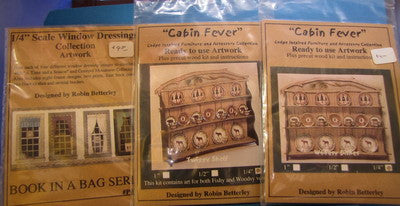 "Quarter Inch ""Cabin Fever"" kits"
