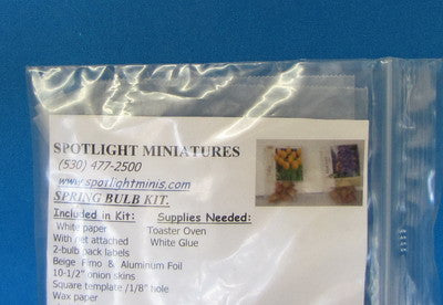 One Inch Scale Spring Bulb Kit
