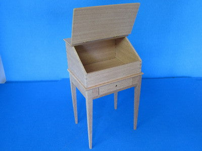 One Inch Scale Writing Desk