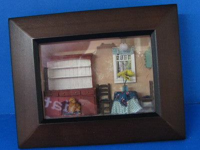 Quarter Scale Framed Kitchen Roombox