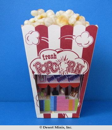 KIT - Snack Bar in a Popcorn Box