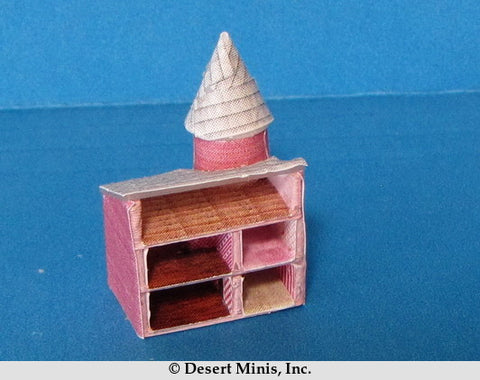 KIT - Pink Dollhouse for a Quarter Scale Dollhouse