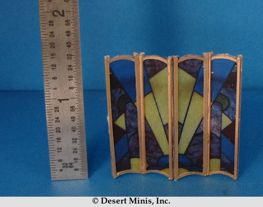 KIT - Folding Screen with an Art Deco Theme