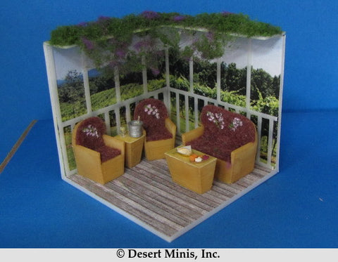 KIT - Patio Chairs and Small Table