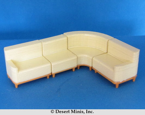 KIT - 1950's Style (mid-century) Sectional Sofa