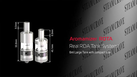 Aromamizer V2 RDTA Tank from Steam Crave